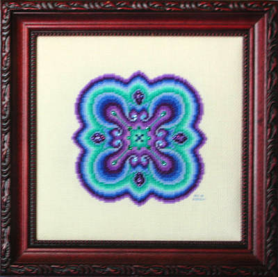 cross stitch pattern Mind Play