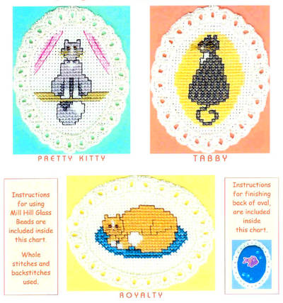 cross stitch pattern Purr-r-r-r