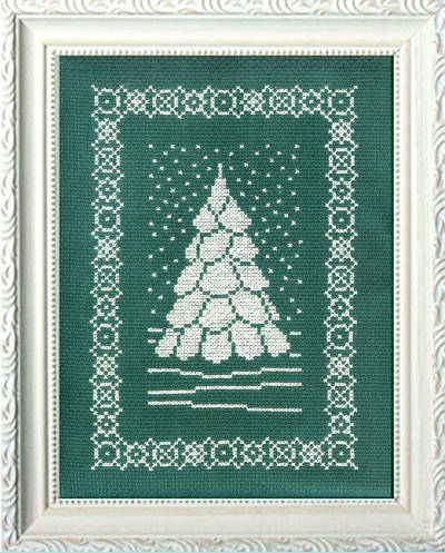 cross stitch pattern That Time of Year - Snow