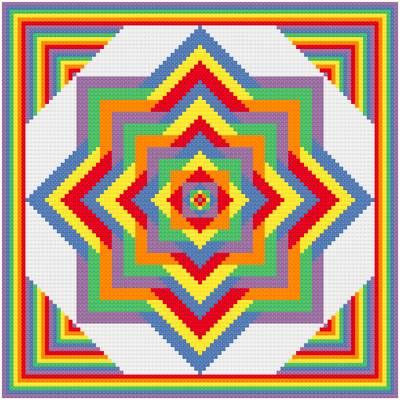 cross stitch pattern Ever Expanding