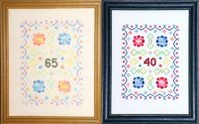 cross stitch pattern How Many Years