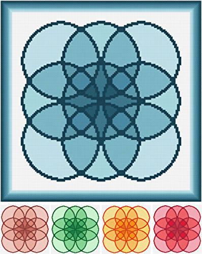 cross stitch pattern Bunches of Buddles
