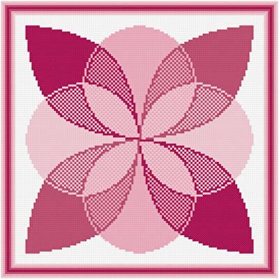 cross stitch pattern Accumulating Layers
