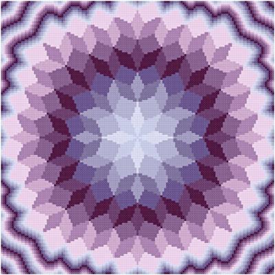 cross stitch pattern Fun House