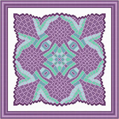 cross stitch pattern Drama