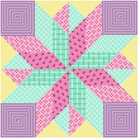 cross stitch pattern Dynamic