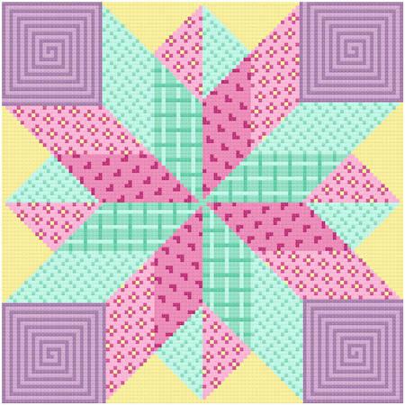 cross stitch pattern Dynamic