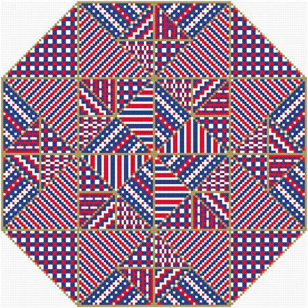 cross stitch pattern Boldly Go
