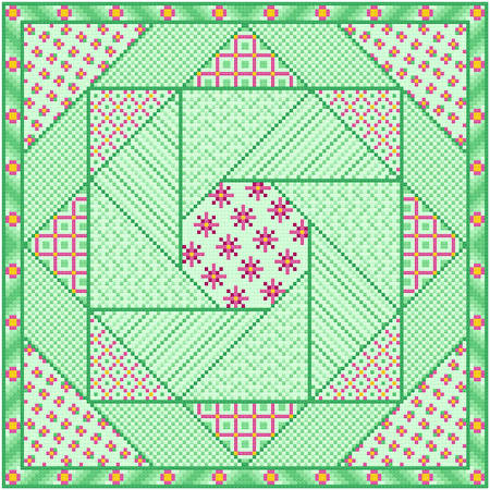 cross stitch pattern Nicety