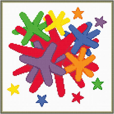 cross stitch pattern Boredom