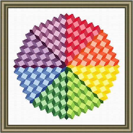 cross stitch pattern Color Sphere