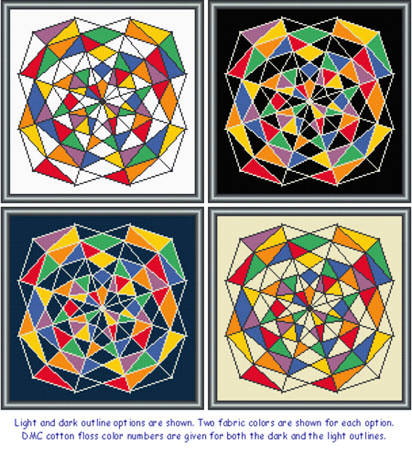 cross stitch pattern Shattered Dreams