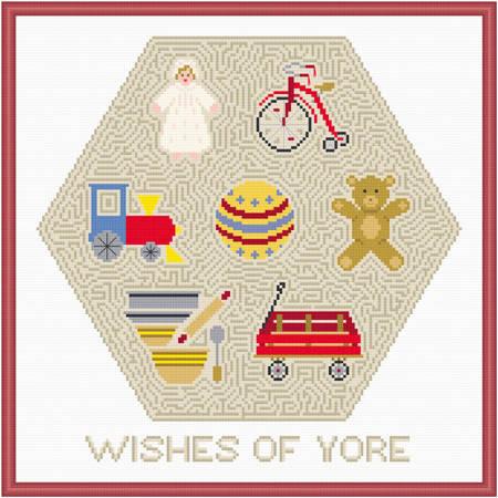 cross stitch pattern Wishes of Yore