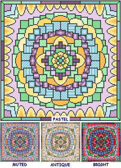 cross stitch pattern Busy, Busy
