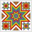 cross stitch pattern Constellation