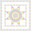 cross stitch pattern Lone Star