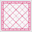 cross stitch pattern The Path of Love