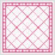 cross stitch pattern The Path of Love