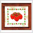 cross stitch pattern M - M - M Strawberries