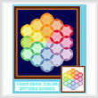 cross stitch pattern Almost A Color Wheel