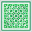 cross stitch pattern Think Irish