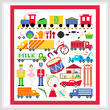 cross stitch pattern Toy Image