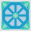 cross stitch pattern Flume - Blue Inserts