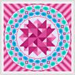 cross stitch pattern Merry Go Round - Plum Rdges