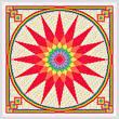 cross stitch pattern Merry Mixer