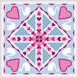 cross stitch pattern Tunnel of Love