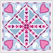 cross stitch pattern Tunnel of Love