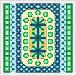 cross stitch pattern Whip - Green Edges