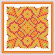 cross stitch pattern Exotic