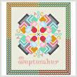cross stitch pattern September - Back to School