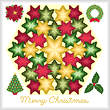cross stitch pattern Kaleidoscope - Christmas