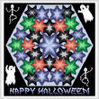 cross stitch pattern Kaleidoscope - Halloween