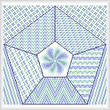 cross stitch pattern Relaxed and Calm