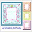 cross stitch pattern Wedding Announcement (14x16)