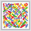 cross stitch pattern Curli-ques
