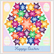 cross stitch pattern Kaleidoscope - Easter