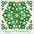 cross stitch pattern Kaleidoscope - Happy St. Patrick's Day