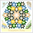 cross stitch pattern Kaleidoscope - Vacation Time