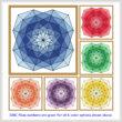 cross stitch pattern One Color Range