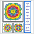 cross stitch pattern Cool and Bright