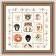 cross stitch pattern Monkey Shines