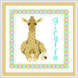 cross stitch pattern Baby Giraffe