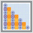 cross stitch pattern Drop and Bounce