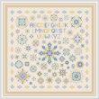 cross stitch pattern Shades of Long Ago
