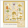 cross stitch pattern Shades of Simpler Times
