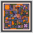 cross stitch pattern So Much to Do - Halloween